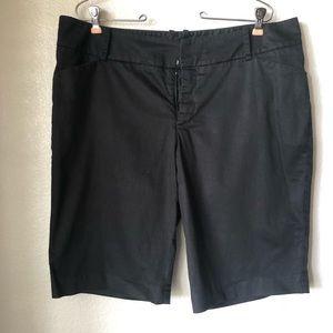 Mossimo Black Classic Long Shorts